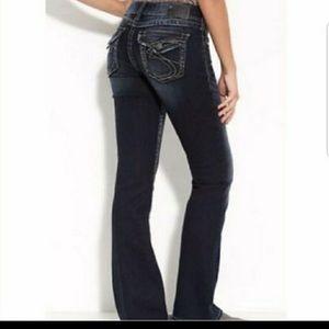 Silver Suki Surplus  jeans size 26 NWT